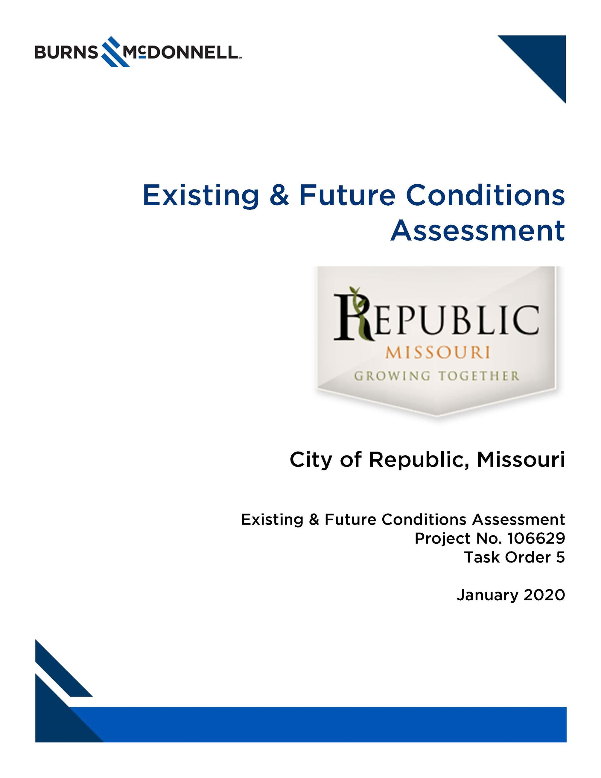 Republic Existing and Future Conditions Opens in new window