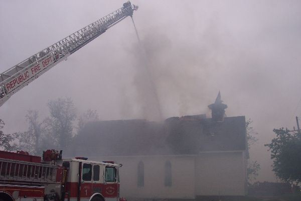 Church Fire Extinguished